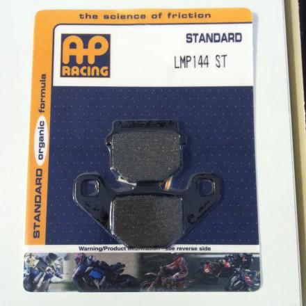 Plaquettes de frein AP RACING LMP144ST, Standard Organique Avant/Arrière