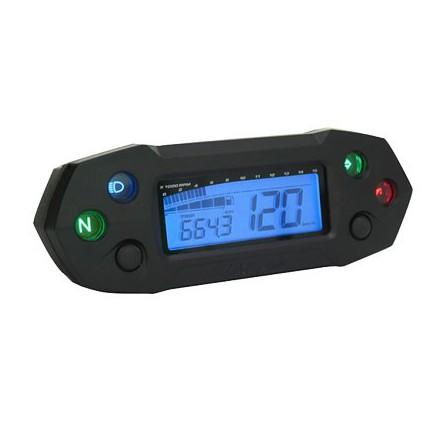 Compteur Koso digital DB-01R Noir/Bleu Multifonctions