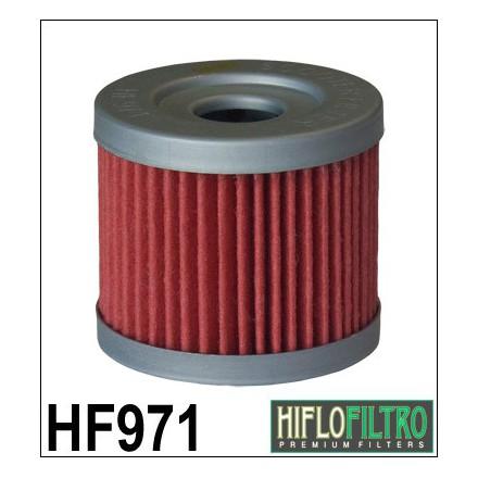 HF971 Filtre à huile HIFLOFILTRO HF971 POUR SUZUKI 125 BURGMAN 2000-, 400 BURGMAN AN 2007-2012 (44x40mm) HIFLOFILTRO Filtre à hu