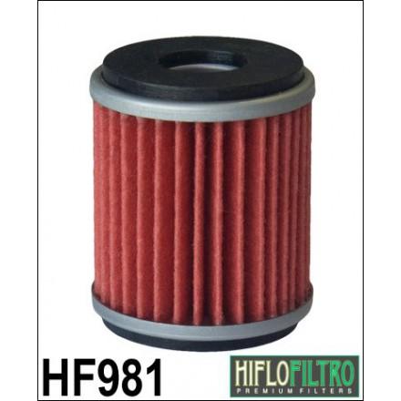 HF981 Filtre à huile HIFLOFILTRO HF981 POUR YAMAHA 125 XMAX, X-CITY-MBK 125 SKYCRUISER, CITYLINER (38x46mm) HIFLOFILTRO Filtre à