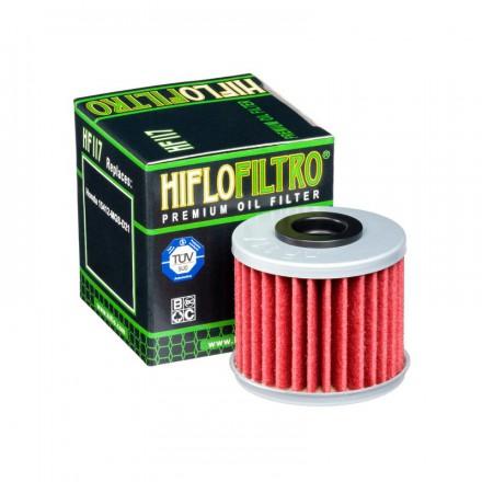 HF117 Filtre à huile HIFLOFILTRO HF117 pour HONDA 1000 CRF Africa Twin HIFLOFILTRO Filtre à huile