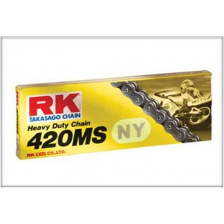 Chaîne Hyper Renforcée RK NY420MS Jaune 122 maillons