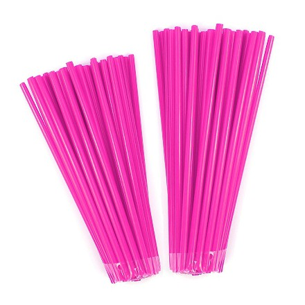 Couvre rayon NoenD Rose Fluo 76pcs
