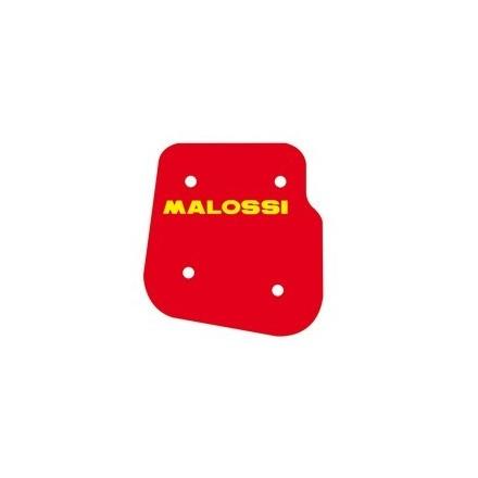 Mousse de filtre à air Malossi Red Sponge pour MBK 50 FLIPPER 1997 à 2007 / YAMAHA 50 WHY 1997 à 2011
