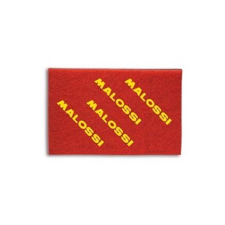 Feuille de mousse de filtre à air Malossi Double Red Sponge A4 20 x 30 cm