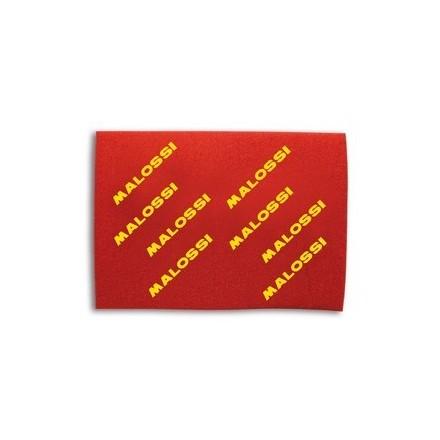 Feuille de mousse de filtre à air Malossi Double Red Sponge A3 40 x 30 cm