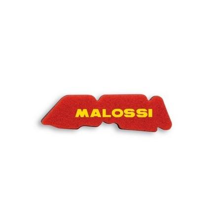 Mousse de filtre à air Malossi Double Red Sponge pour Piaggio TYPHOON 50 2T 07 à 10 / Vespa LX 50 2T