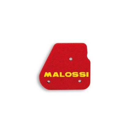 Mousse de filtre à air Malossi Double Red Sponge pour NITRO, OVETTO/YAMAHA 50 AEROX, NEOS/MALAGUTI 50 F10, F12