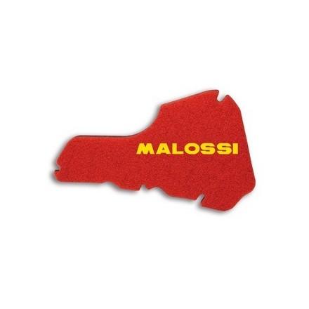 1414503 Mousse de filtre à air Malossi Double Red Sponge pour PIAGGIO 50 Sfera Restyling 95/99, 125 Liberty et Vespa 50 ET2 MALO