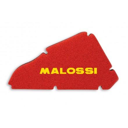 Mousse de filtre à air Malossi Double Red Sponge pour Piaggio NRG EXTREME 50 2T / Gilera RUNNER SP 50 2T LC jusqu'a 2005
