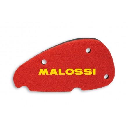 Mousse de filtre à air Malossi Double Red Sponge pour Aprilia SR Ditech 50 2T LC, Aprilia SR Réplica 50 2T LC 2000-