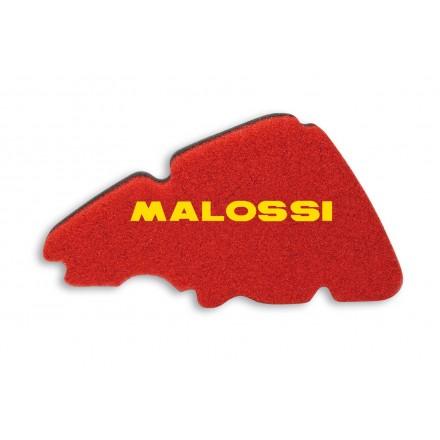 1414511 Mousse de filtre à air Malossi Double Red Sponge pour Piaggio LIBERTY 50 4T, Liberty 125/150 4T Euro 1-2-3 (LEADER) MALO
