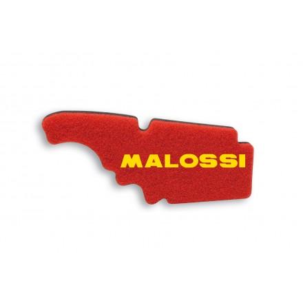 1414532 Mousse de filtre à air Malossi Double Red Sponge pour APRILIA MOJITO RY 125 4T (LEADER), VESPA LX 4V 50 4T euro 2 MALOSS