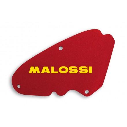 1416571 Mousse de filtre à air Malossi Red Sponge pour PIAGGIO NEW FLY 3V 125 ie 4T euro 3 2012->, LIBERTY 3V 125/150 ie 4T euro