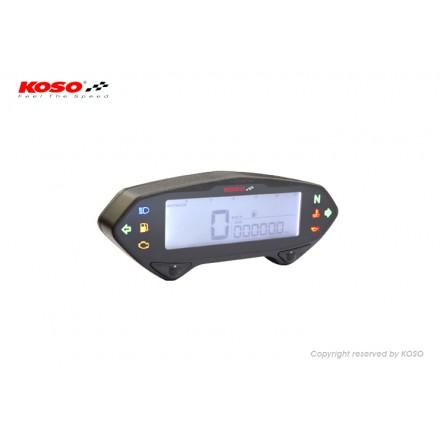 Compteur Koso digital DB-01R Noir Multifonctions CE Noir