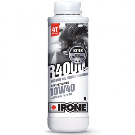 Huile Ipone R4000RS 4 Temps 10W40 (1 litre)