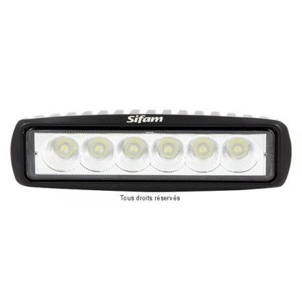 Projecteur Rectangulaire 6 LED 18W-1000 Lum
