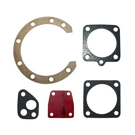Joint Moteur Cyclo adapt. Solex (Pochette De 5 Joints, Membrane Rouge) -Selection P2R-