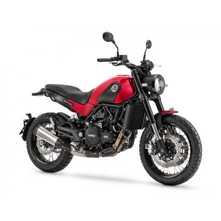 Benelli Leoncino 500 Trail Rouge (Cadre Noir)