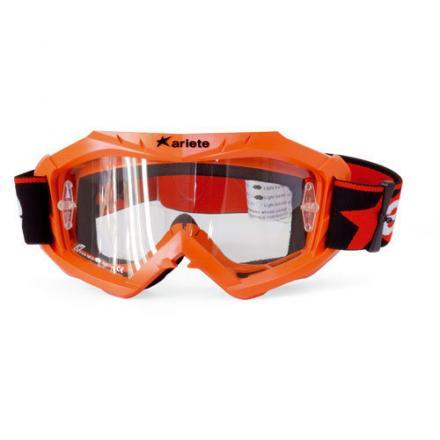Masque cross Ariete Terra Orange