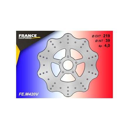 FE.M420V Disque de frein FE.M420V disque FRANCE EQUIPEMENT