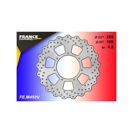 FE.M450V Disque de frein FE.M450V disque FRANCE EQUIPEMENT