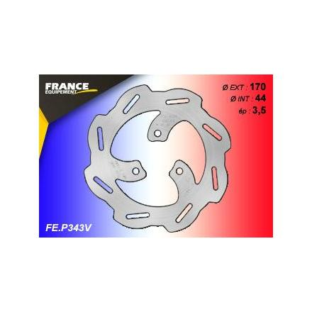 FE.P343V Disque de frein FE.P343V disque FRANCE EQUIPEMENT