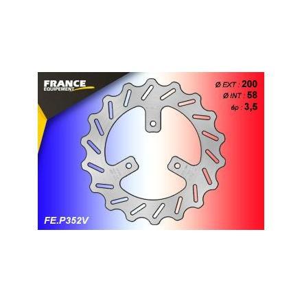 FE.P352V Disque de frein FE.P352V disque FRANCE EQUIPEMENT