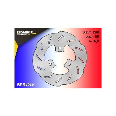 FE.R401V Disque de frein FE.R401V disque FRANCE EQUIPEMENT