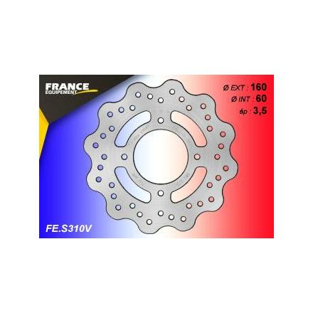 FE.S310V Disque de frein FE.S310V  disque FRANCE EQUIPEMENT