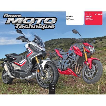 Revue Moto Technique RMT 188 Honda X-ADV 750 + Suzuki GSX-S 750