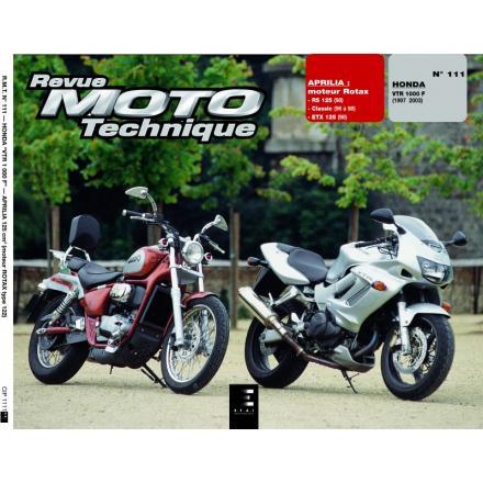 Revue Moto Technique RMT 111.2 HONDA 1000 VTR/APRILIA 125 RS