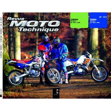Revue Moto Technique RMT RMT 101 YAMAHA WR 250 (93/96)/HONDA XR600R (88/96)