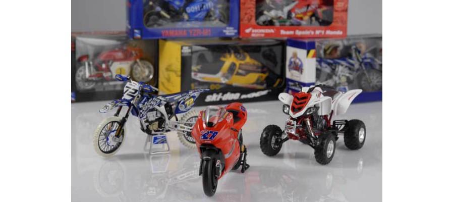 Maquettes Motos