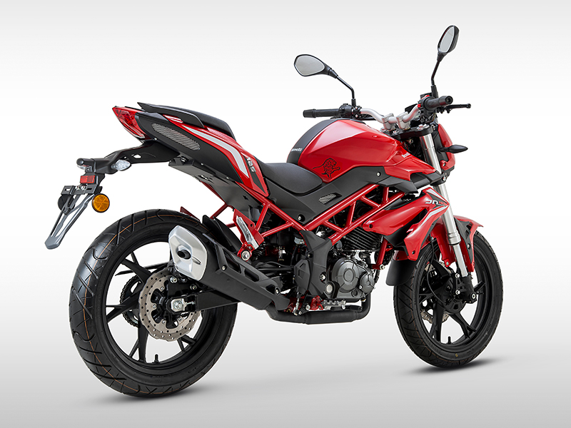 BN 125 ROUGE (CADRE ROUGE)
