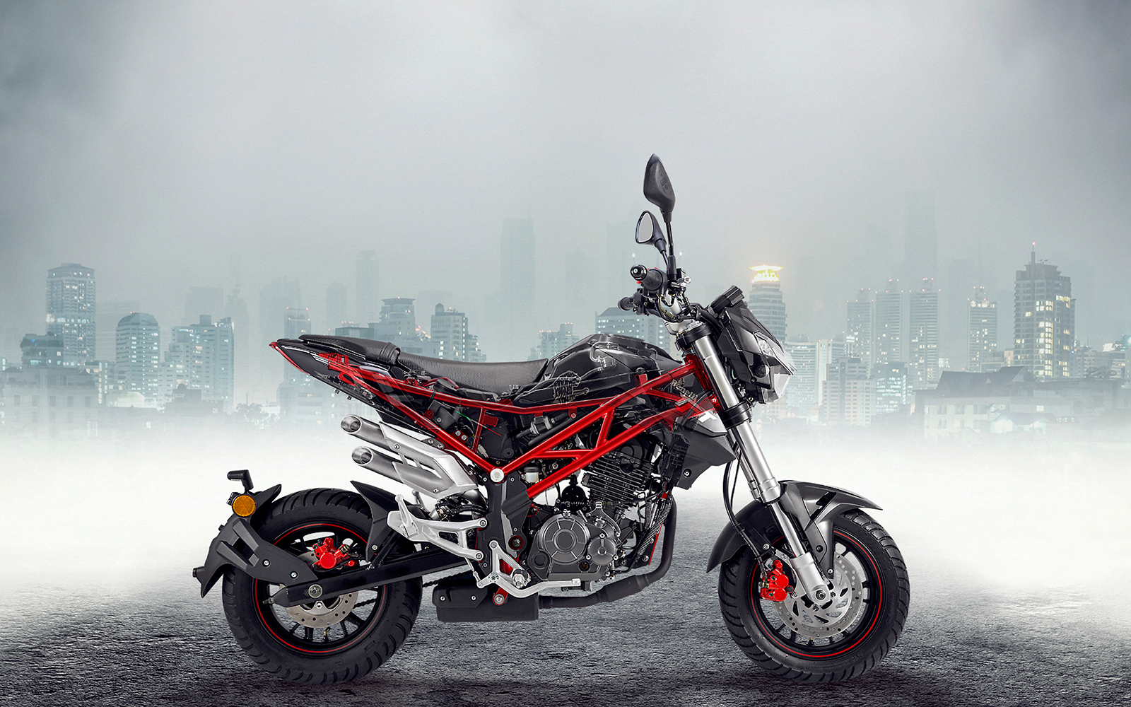 CADRE BENELLI TORNADO NAKED T 125