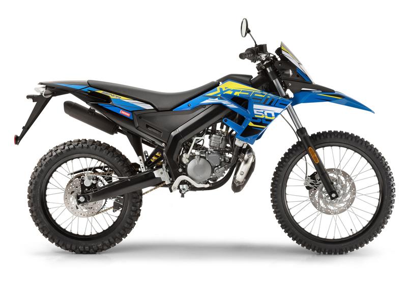DERBI SENDA R X-TREME 50 Bleu 2018