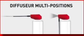 DIFFUSEUR MULTI-POSITIONS
