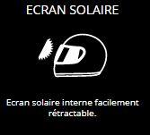ECRAN SOLAIRE - Ecran solaire interne facilement rétractable.