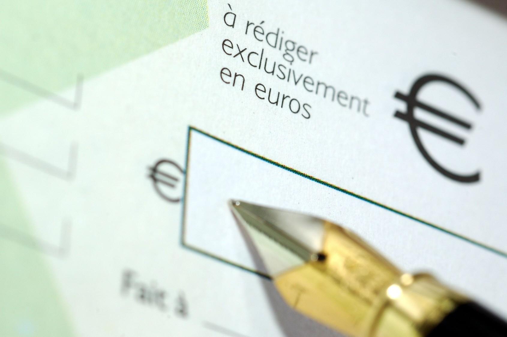 Règlement par chèque